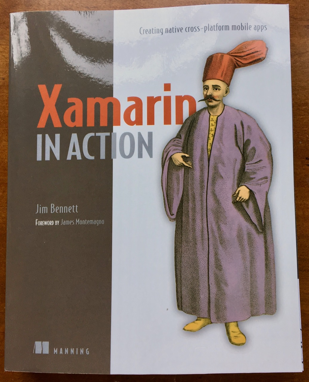 Xamarin in Action book cover