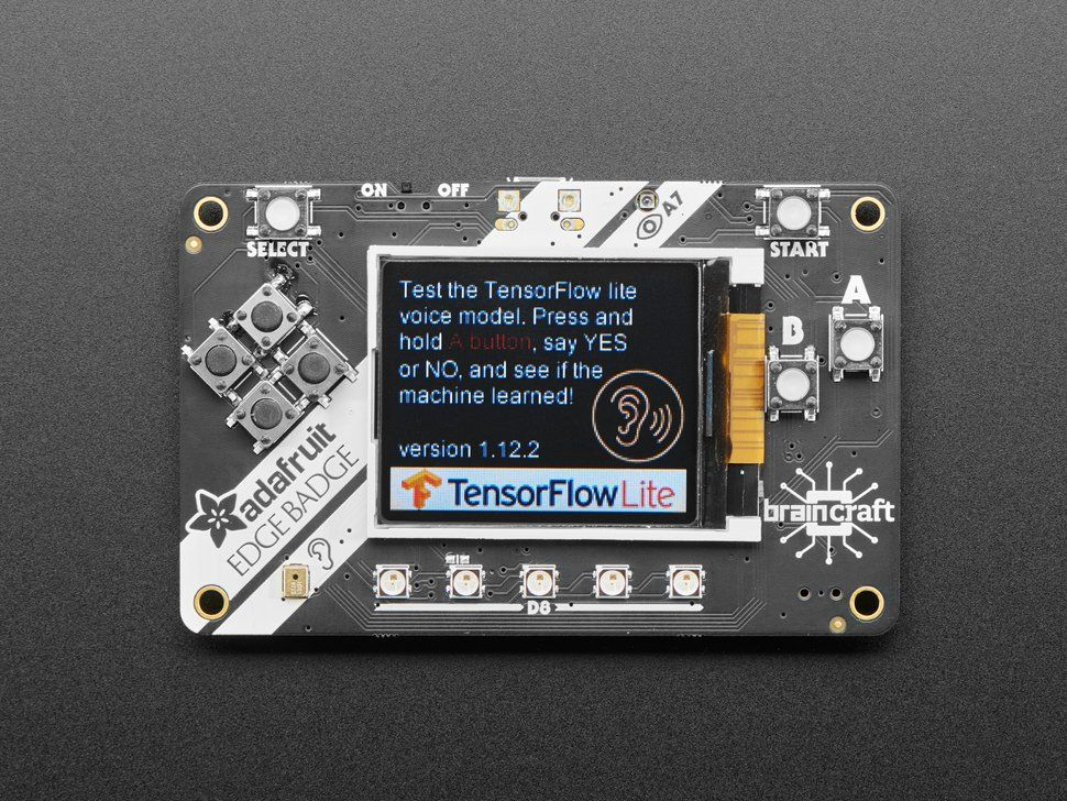 Recognizing words on a microcontroller using TinyML